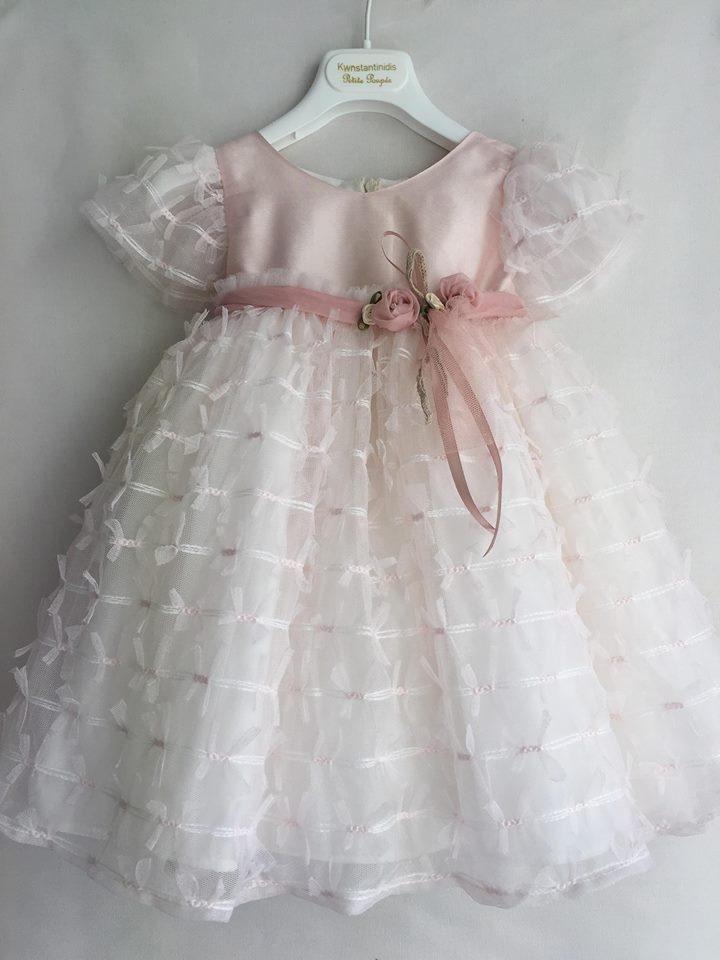 771e5803b32 Βαπτιστικό ρούχο για κορίτσι Χειμωνιάτικα & Καλοκαιρινά ροζ