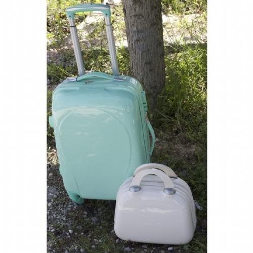βεραμάν βαλίτσα βαπτιστική τρόλεϊ