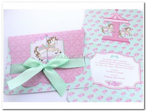 Carousel Mint-Pink