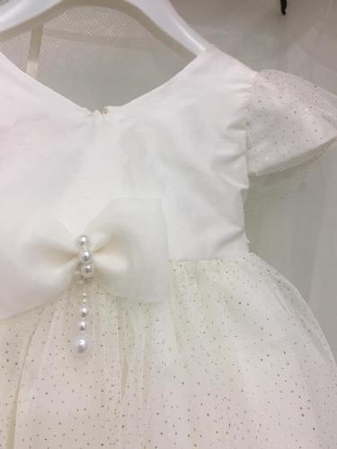 Βαπτιστικό φόρεμα με μανικάκι