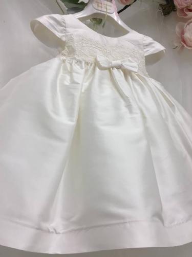 Μεταξωτό φόρεμα βαπτιστικό