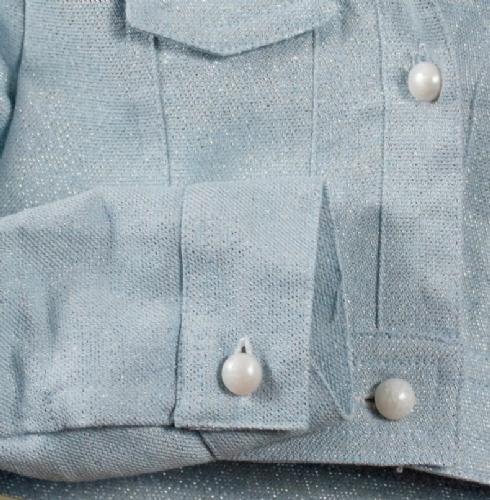 βαπτιστικά ρούχα ζακέτα πανοφόρι για κορίτσι με γκλίτερ