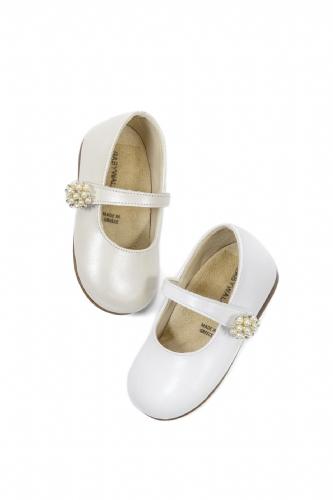 Babywalker Παπούτσι Ivory Πέρλες