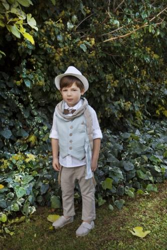 βαπτιστικά ρούχα για αγόρι μπεζ άμμου σιέλ